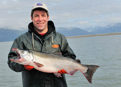 Fisherman Brian Rutzer from Controller Bay