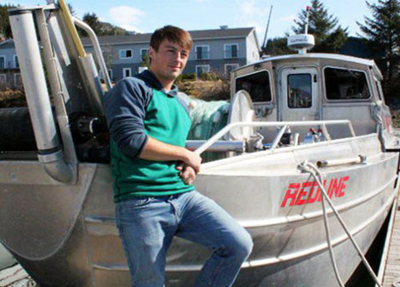 Fisherman Darin Gilman from Red Line