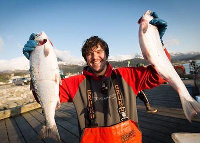 Fisherman Ezekiel Brown from Cape Fear