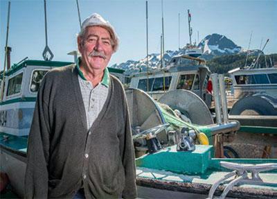 Fisherman Kent Herschleb from Savonia