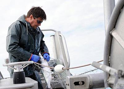 Fisherman Michael Bowen from Jenna Marie